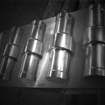 Aluminium mallen maken
